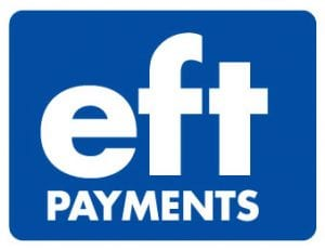 Payments via EFT